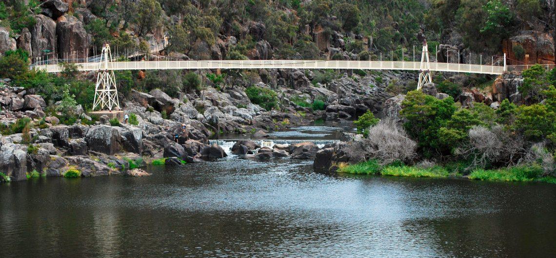 cataract gorge, tasmania, tours to tasmania, seniors tours tasmania, bruny island, tahune forest airwalk, port arthur, queenstown, strahan, launceston, hobart,