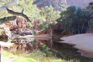 Ormiston Gorge, Alice Springs, Art tour Alice Springs, Namatjira country