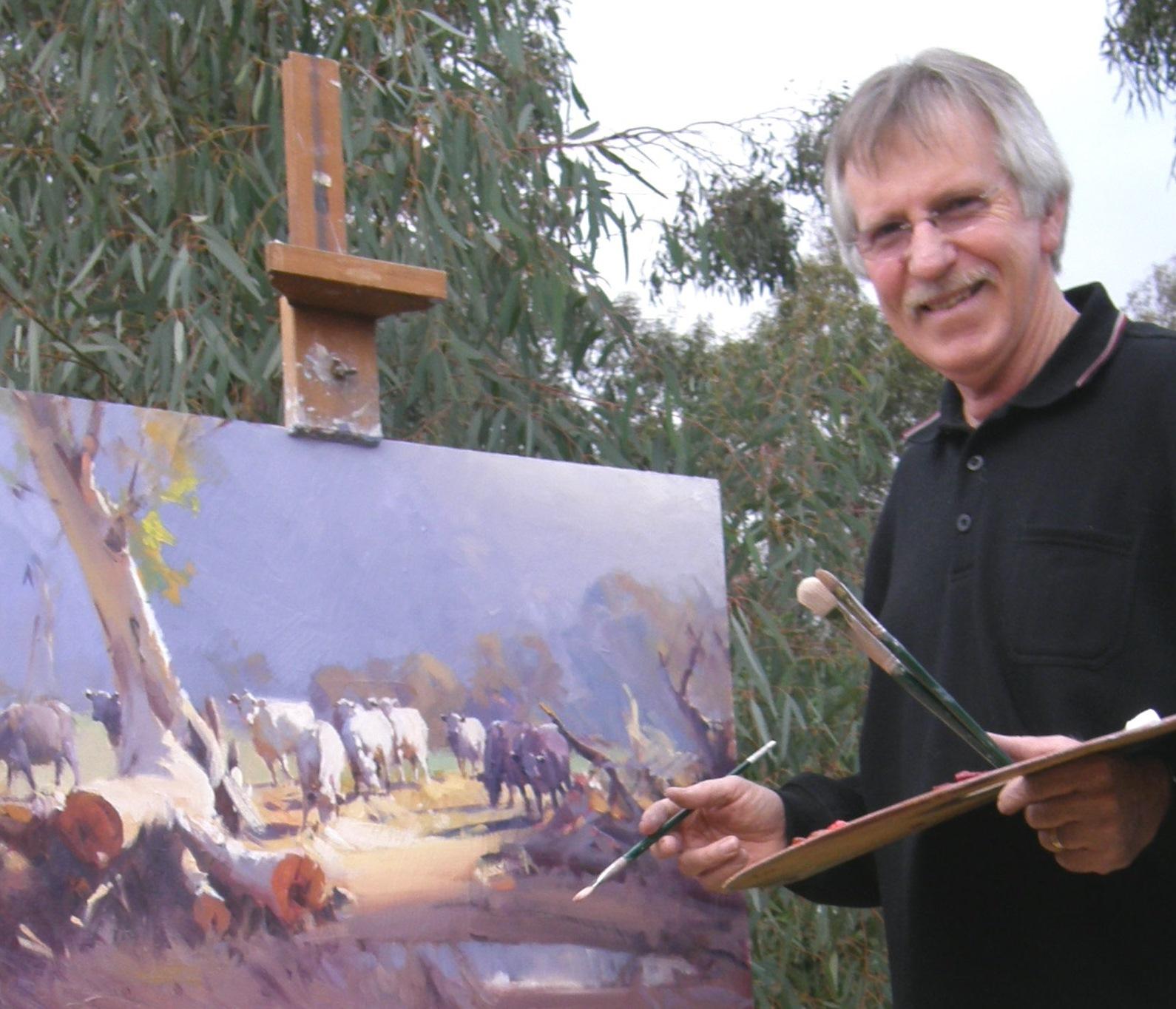 Ross Paterson, Ross Paterson artist, Ross paterson art tours, aussie redback tours, art tours australia, art tours pilbara, pilbara, pilbara wa