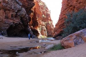 simpson's gap, alice springs, namatjira country, Northern Territory