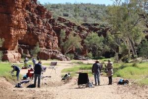 Trephina Gorge, Alice Springs, Northern territory, ross paterson, albert namatjira