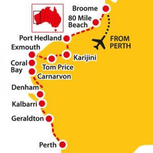 coral coast, western australia's coral coast, broome to perth